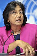 Navi Pillay, Alta Comissária da ONU para os Direitos Humanos