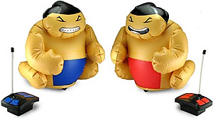 RC Battling Sumo Wrestlers (Image courtesy ThinkGeek)
