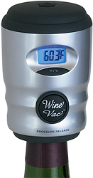 Wine Bottle Vacuum Seal (Image courtesy The Sharper Image)