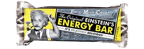 Einstein\'s Energy Bar (Image courtesy the Unemployed Philosophers Guild)