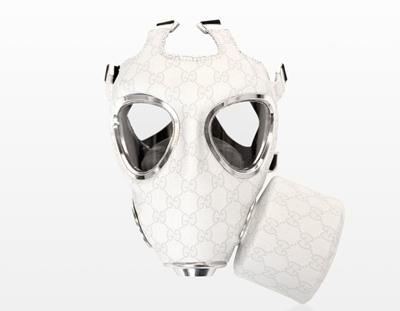 de un diseñador, y he aquí la muestra: unas máscaras de gas con estilo,