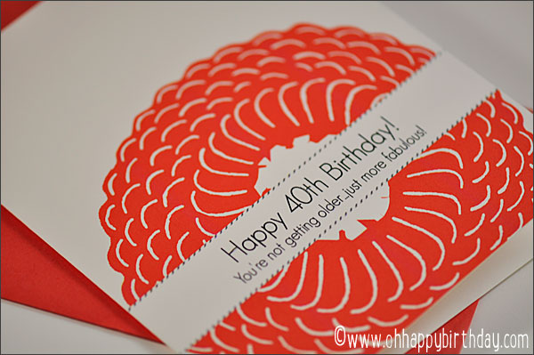 Free Printable 40th Birthday Cards Poemview