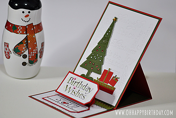 Attractive Christmas Birthday Cards With A Festive Feel