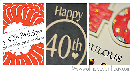 Happy 40th Birthday Cards Free Printable And Print