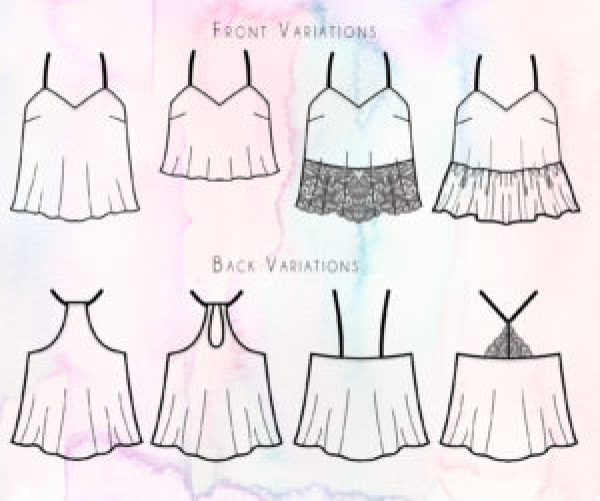 A Year In The Making The Kate Camisole Sewing Pattern Is Here