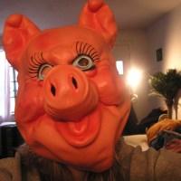 Pig mask, pig mask, OMG pig mask