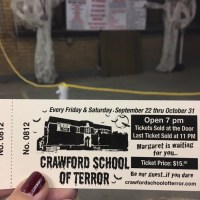 Chooch's Haunted House Review 2017: Crawford Haunted School