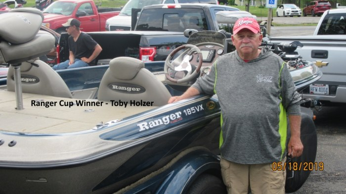 Ranger Cup Winner - Toby Holzer  8.37 LBs