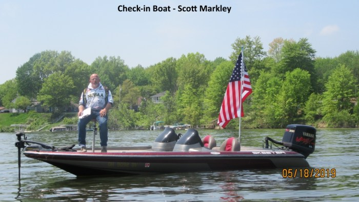 Check-in Boat - Scott Markley