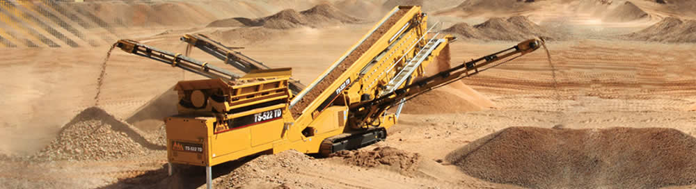 crushing, screening, conveying