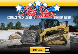Cat Compact Track Loader Tracked Skid Steer