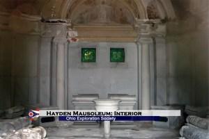Hayden Mausoleum: Interior