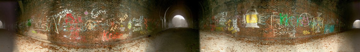 Moonville Tunnel Panorama
