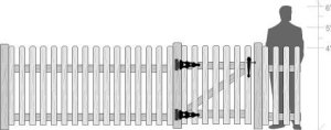 Picket Fence Traditional