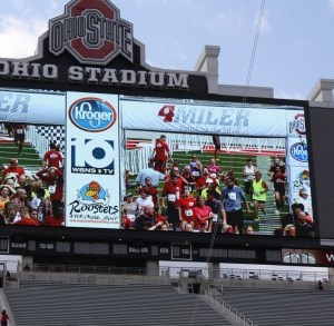 "The Ohio State Four Miler ""Finish on the 50"""