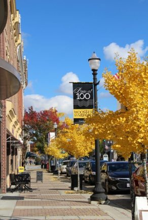 Downtown Wooster, Ohio