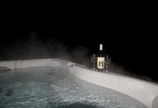Hot Tub in Hocking Hills, Ohio