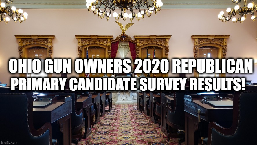 Ohio Gun Owners 2020 Pre-Primary Survey RESULTS!