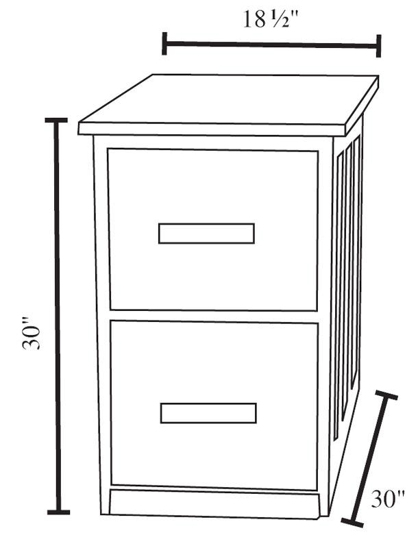 Filing Cabinet Width Standard Scifihitscom - File cabinet width