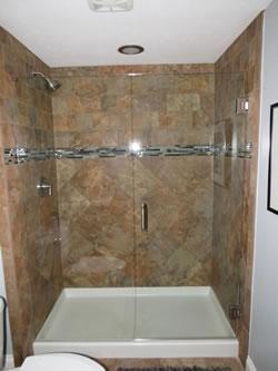 cincinnati custom tile shower builder