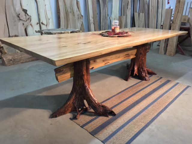 White Wood Coffee Table Set