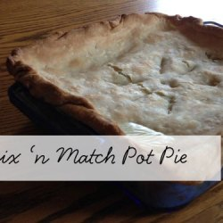 Day 9:: Mix'n Match Pot Pie