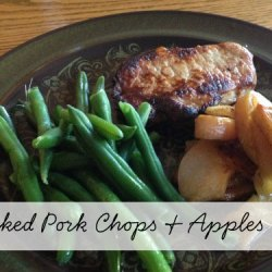 Day 6:: Pork Chops & Apples