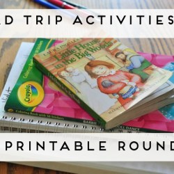 Road Trip Activity Binders (a link round-up)