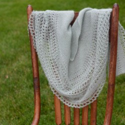 Finished Object:  Henslowe Shawl