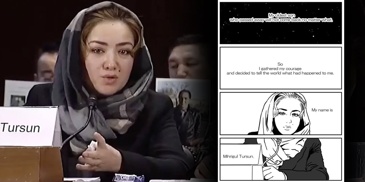 How A Japanese Artist Is Using Manga To Highlight The Plight Of Uighur Muslims In China