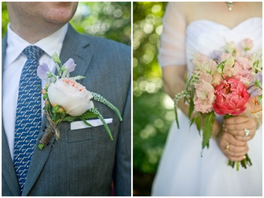 colorful Southern garden party wedding | Mackensey Alexander Photography & YOJ Events
