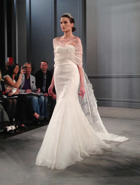wedding dresses by monique lhullier spring 2014 collection lace gown
