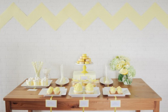 Lemon Bridal Shower Inspiration | Simply Peachy & Isa Photography