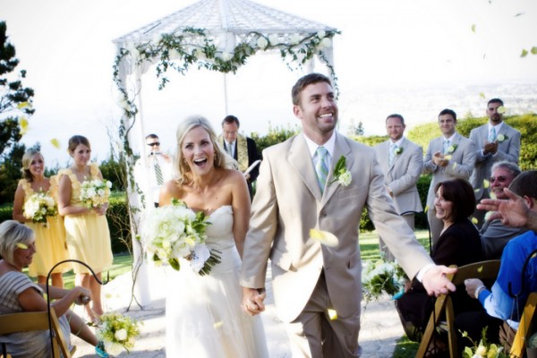 Southern California casual chic wedding from jennifer roper