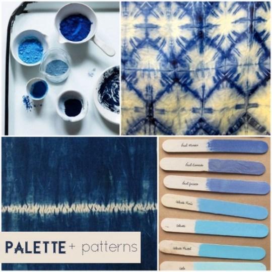 indigo palette inspiration oh lovely day