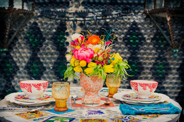mexican folk art inspired vow renewal | Zoom Theory Photography on ohlovelyday.com