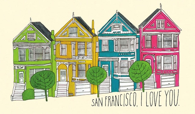 san francisco love by lisa congdon