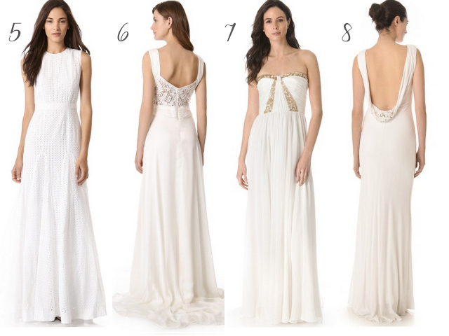 Wedding Dresses Galore 39 Simple  wedding dresses under