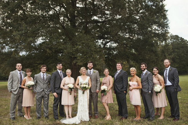 Handmade Rustic Wedding | Karen Selfert Photography | Oh Lovely Day