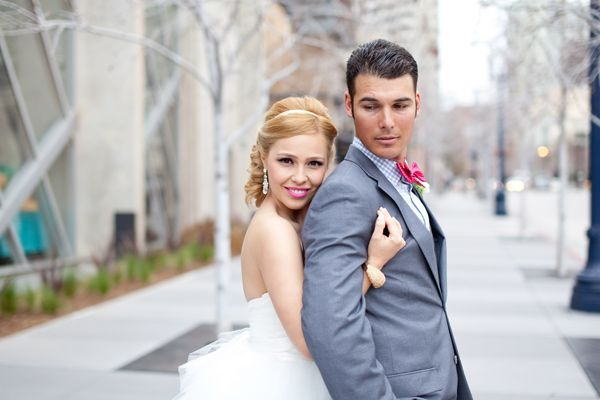 wearing lipstick on your wedding day | Glitter, Inc. on Oh Lovely Day