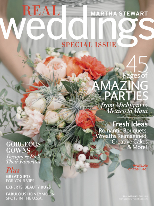 Martha Stewart Weddings Fall Real Weddings Issue Exclusive Sneak Peek on Oh Lovely Day