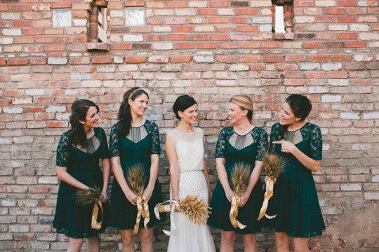 Top Weddings of 2013 on Oh Lovely Day | Modern Harvest Wedding by Mike Olbinski