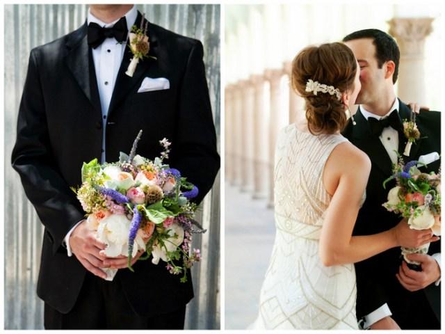 Wedding Invitations Tucson: Art Deco DIY Tucson Wedding