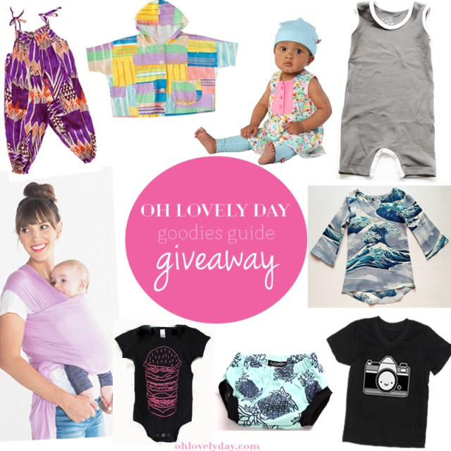 Oh Lovely Day Goodies Guide Giveaway | Win a spring/summer wardrobe for your littles on Oh Lovely Day