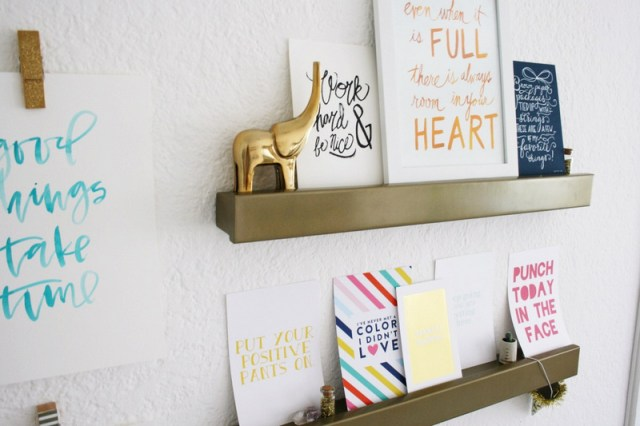 Shared Art Room & Office Space | Oh Lovely Day