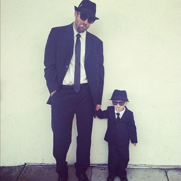 Favorite Halloween Costume Ideas for Pairs: Blues Brothers | Oh Lovely Day