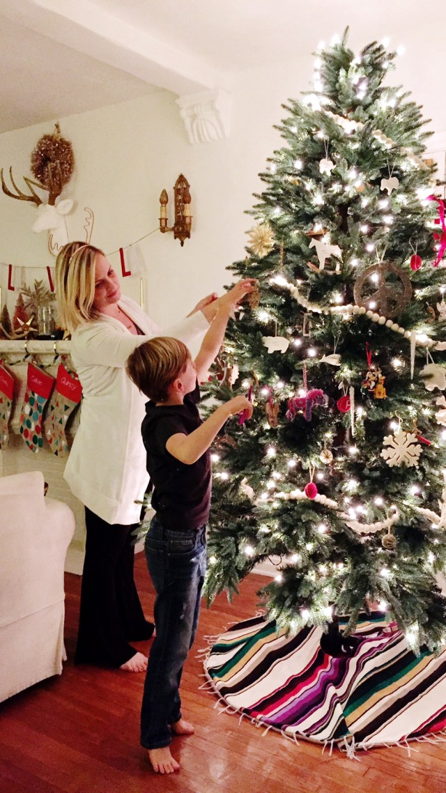 Christmas Tree decorating and traditions