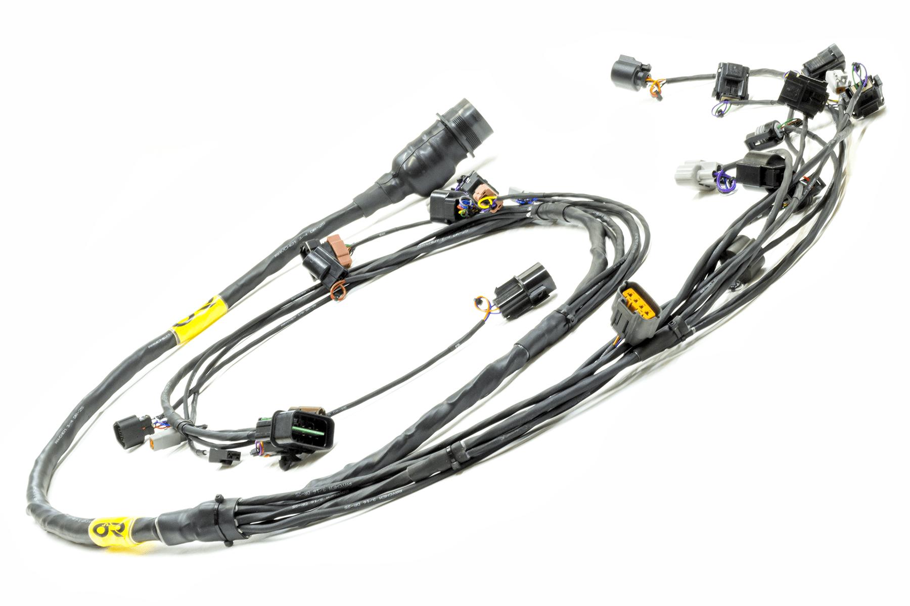 Evo 4 6 Plug Amp Play Tucked Mil Spec Engine Harness