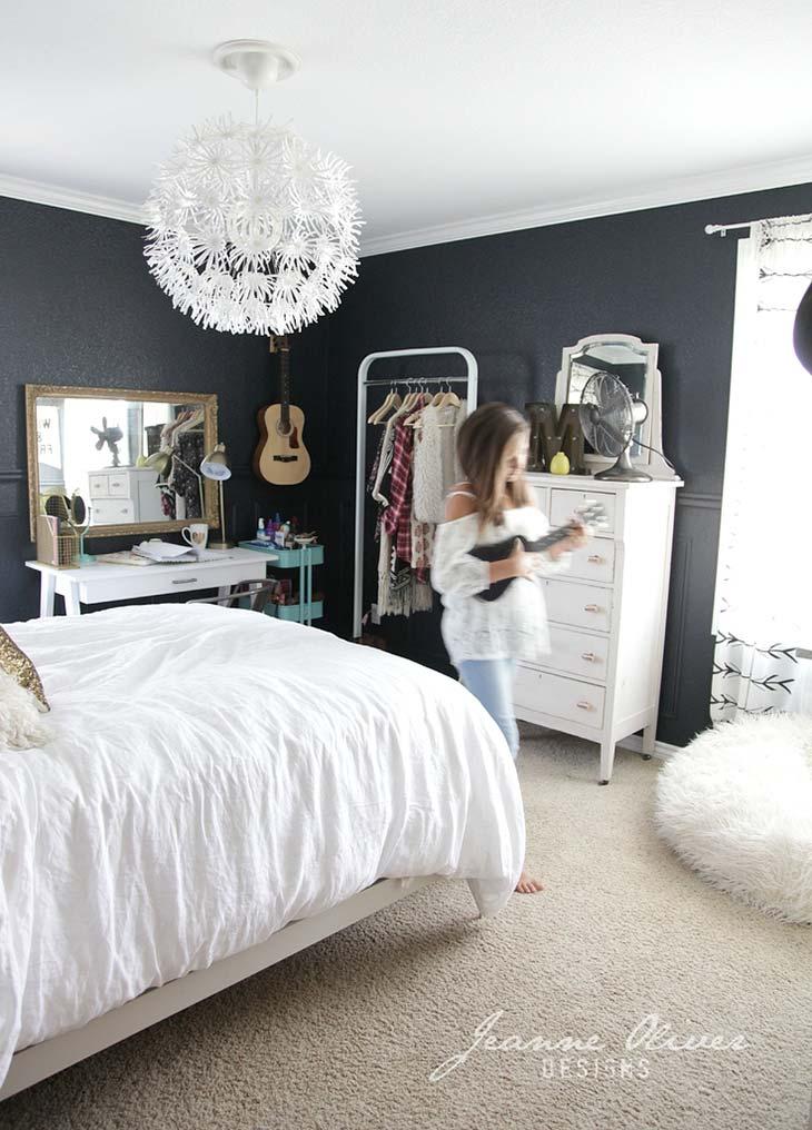 Cute & Stylish Teenage Girl Bedroom Ideas & Room Decor ... on Room Design For Girls Teenagers  id=48952