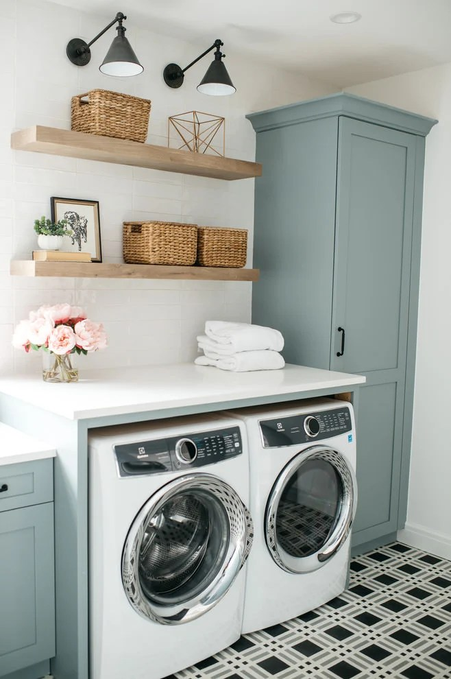 14 Laundry Room Design Ideas That Will Make You Envious ... on Laundry Decorating Ideas  id=80454